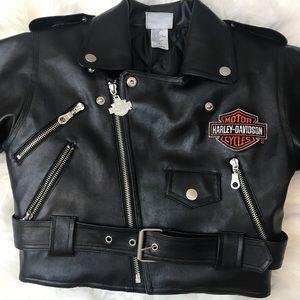 Kids Harley Davidson Leather Jacket On Poshmark